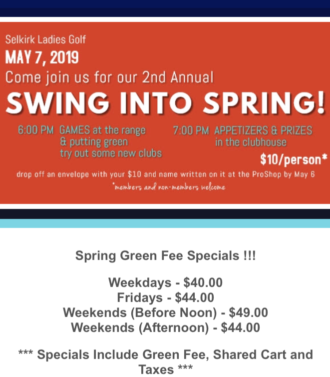 2019 swing into spring news